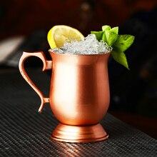 Европейская ретро кружка для вина и пивная чашка из нержавеющей стали, Коктейльная стеклянная чашка для шампанского, бар, ресторан, набор дл...