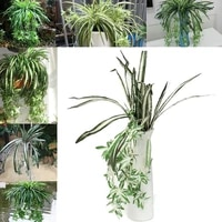 Araignee artificielle en fausse soie  plante verte  Chlorophytum Comosum  decoration de maison