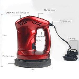 Image 5 - 12 В 80 Вт Мини Машинка Для Полировки Автомобиля, восковая полировка, инструмент для ухода за краской, шлифовальный станок 150 мм