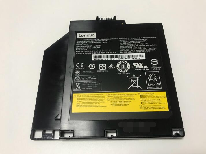 Nueva batería original CD-ROM DVD Ultrabay para Lenovo V510-15IKB (80SV) V510-15IKB (80WQ) v330-14 V330-15 L17L2PB6 7,72 V 4920 mAh