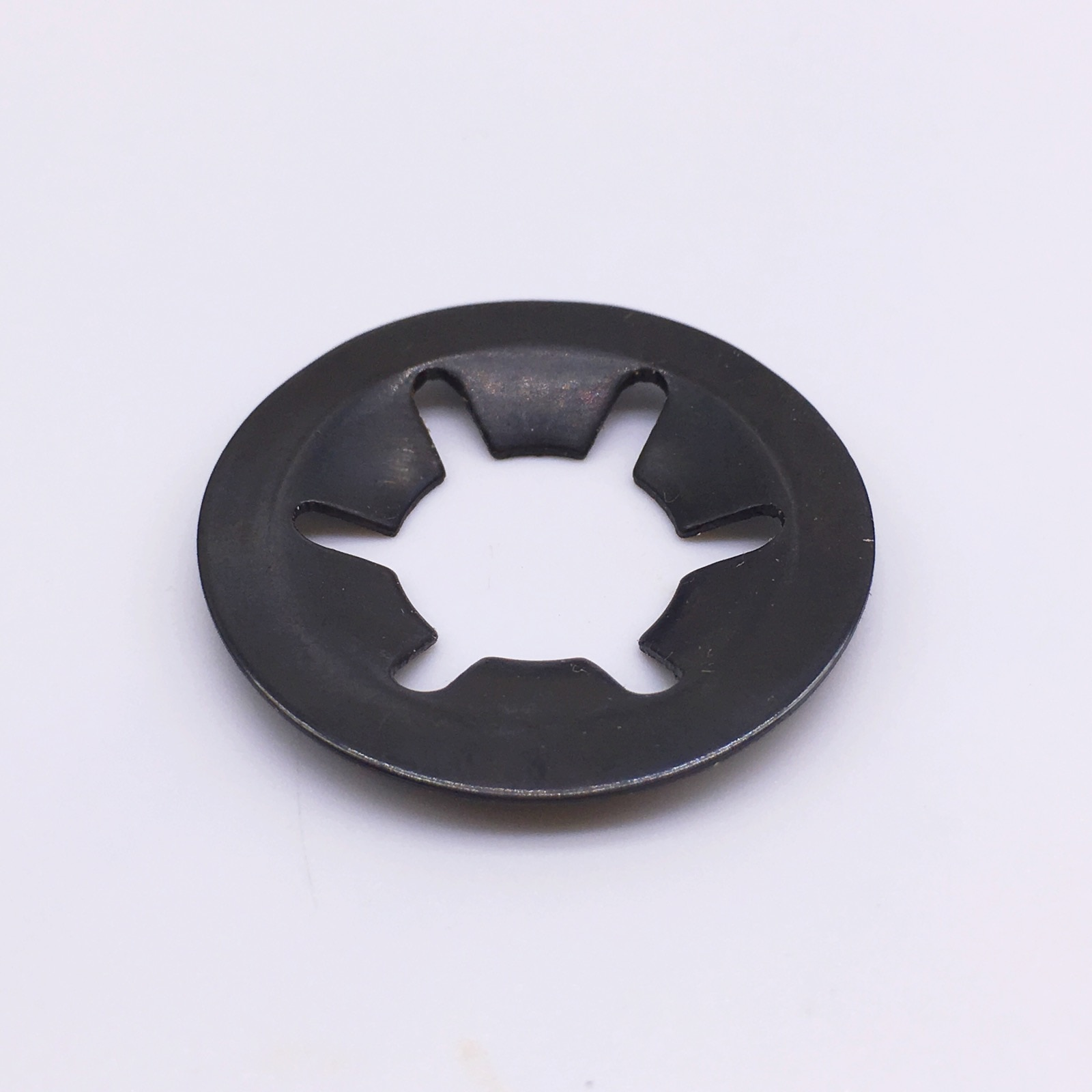 Wkooa-مثبتات غسيل Starlock ، M8 65Mn ، أسود