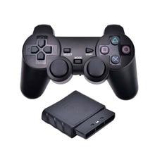 Gamepad vibrador inalámbrico 2,4 GHz, controlador de juego USB, Joystick Gamepad Bluetooth para PS2 para Sony Playstation 2