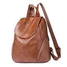 Fashion Women Backpacks PU Leather Backpack Shoulder Bag Daypack for Women Female Rucksack Feminine Mochila Travel Backpack 2018