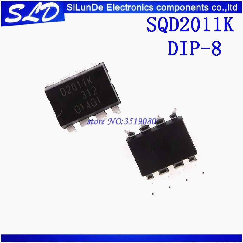 Envío Gratis 50 unids/lote SQD2011K SQD2011 D2011K DIP8 nuevo y original en stock