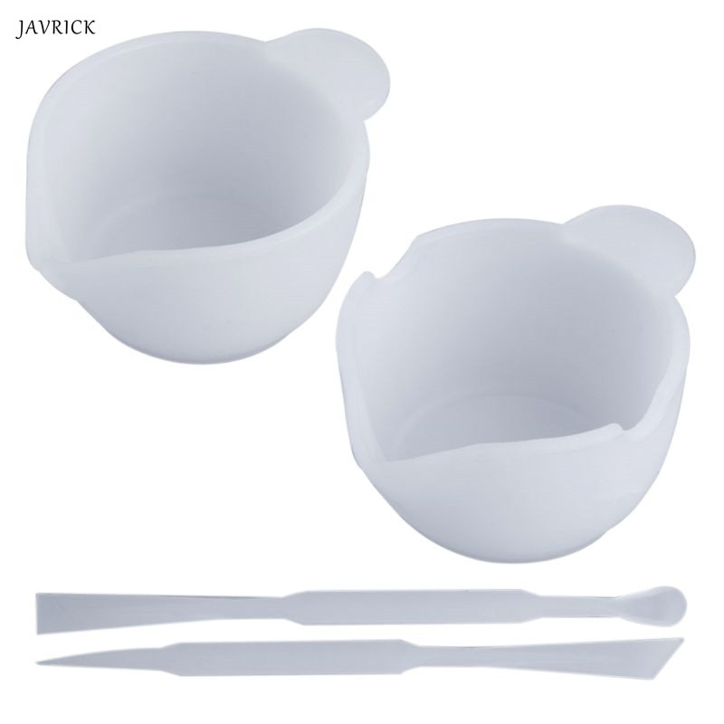 1 ensemble mélange tasse Silicone moule résine époxy outils bijoux à bricoler soi-même fabrication de bâton accessoires faits à la main