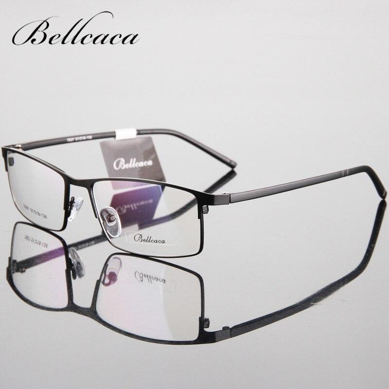 Gafas Bellcaca, montura de gafas para hombre, gafas de miopía con receta para hombre, gafas transparentes BC101
