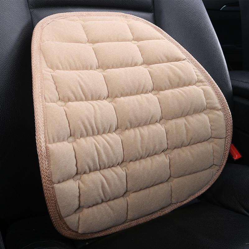 Winter Autositz Greifen Lüftet Lüften Kissen Pad Office Home zurück Suppport für BMW VW golf 4 Opel