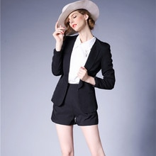J43984 High Quality Ofiice Lady Business Suit Blazer Jacket