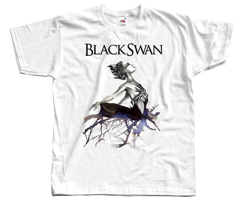 Cisne Negro V1-cartel de película camiseta blanca de manga corta para hombre S-3XL nueva moda para todos los tamaños