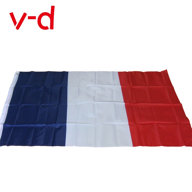free  shipping  xvggdg  France flag Banner  90*150cm Hanging National flag France Home Decoration French flag 201 countries flag national flag symbol fridge magnets combine order accept wholesale business souvenirs