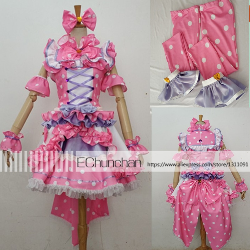 High Quality Anime Pripara NonSugar Manaka Non Cosplay costume Halloween costume