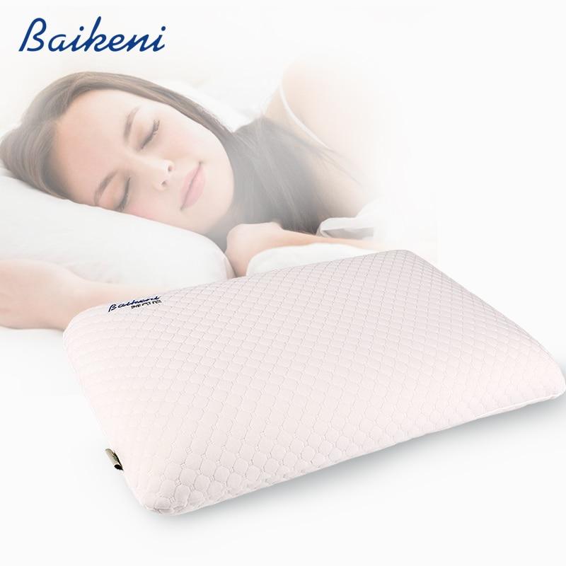وسادة رقبة ميموري فوم ، 60 × 40 × 11 سنتيمتر ، انتعاش بطيء ، لتقويم العظام ، سرير ، رعاية صحية ، علاج طبيعي ، وسادة نوم