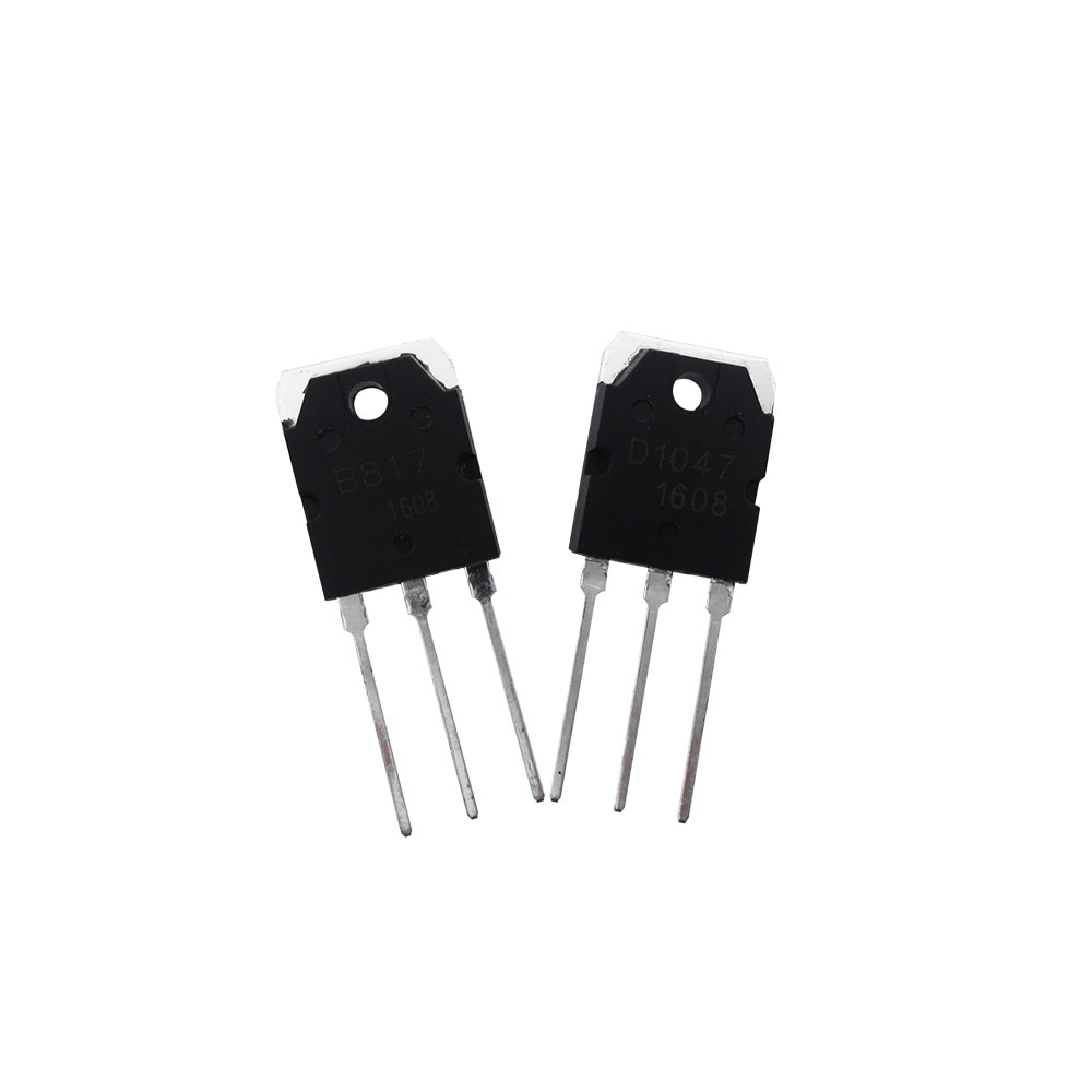2SD1047 2SB817 HAILANGNIAO 5 Pares (D1047 B817 Transistor de Potência)