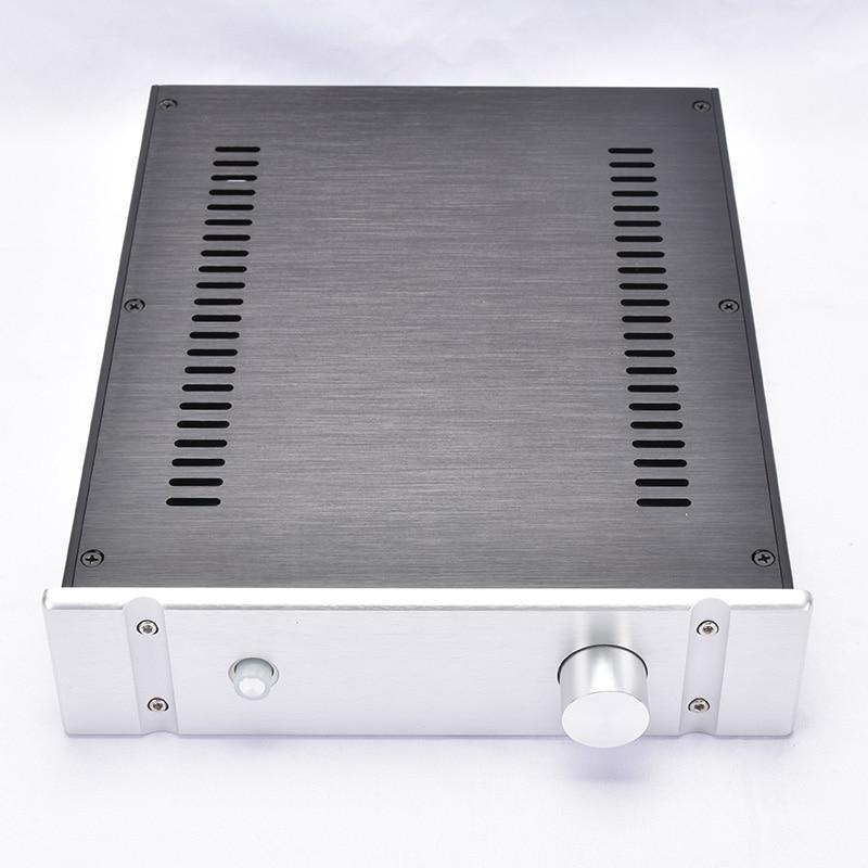 KYYSLB 260*70*311 мм DIY Box 2607B алюминиевый корпус усилителя корпуса с жалюзи