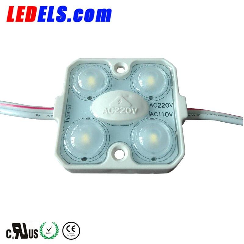 وحدة led ذات حجم عالي 1.5w 140LM 110v AC 220v ac ، لأضواء الحروف والقنوات