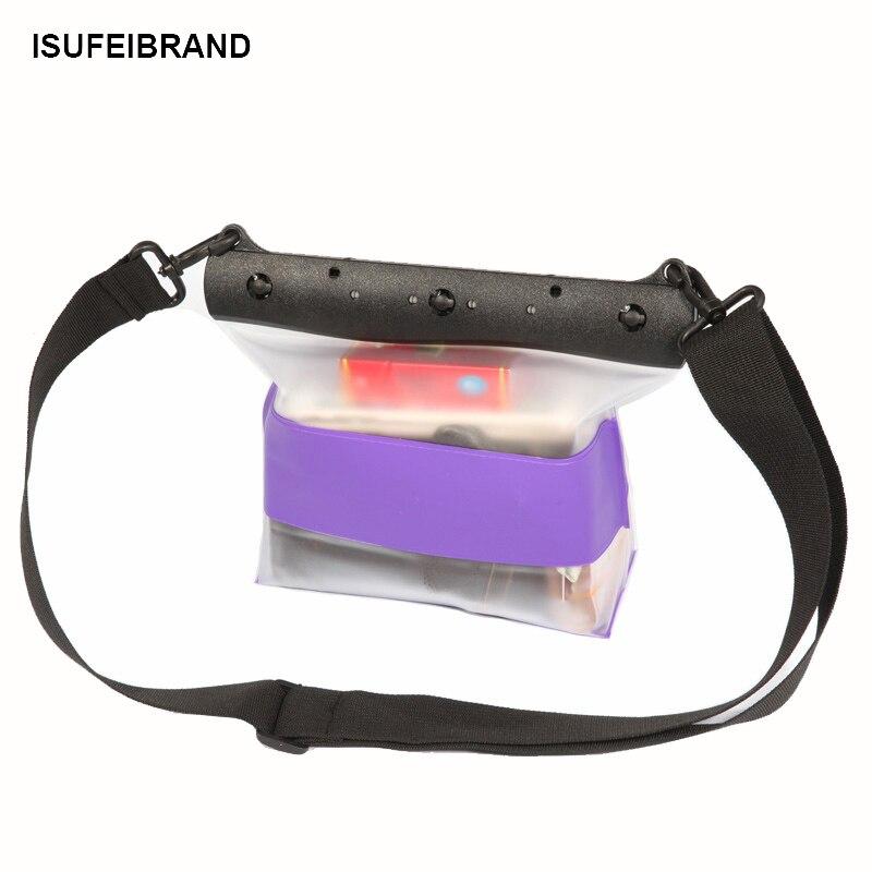 Riñonera impermeable TteooBL 30M de PVC, bolsa de playa subacuática de verano, riñonera transparente para Surf, natación, buceo, snorkel