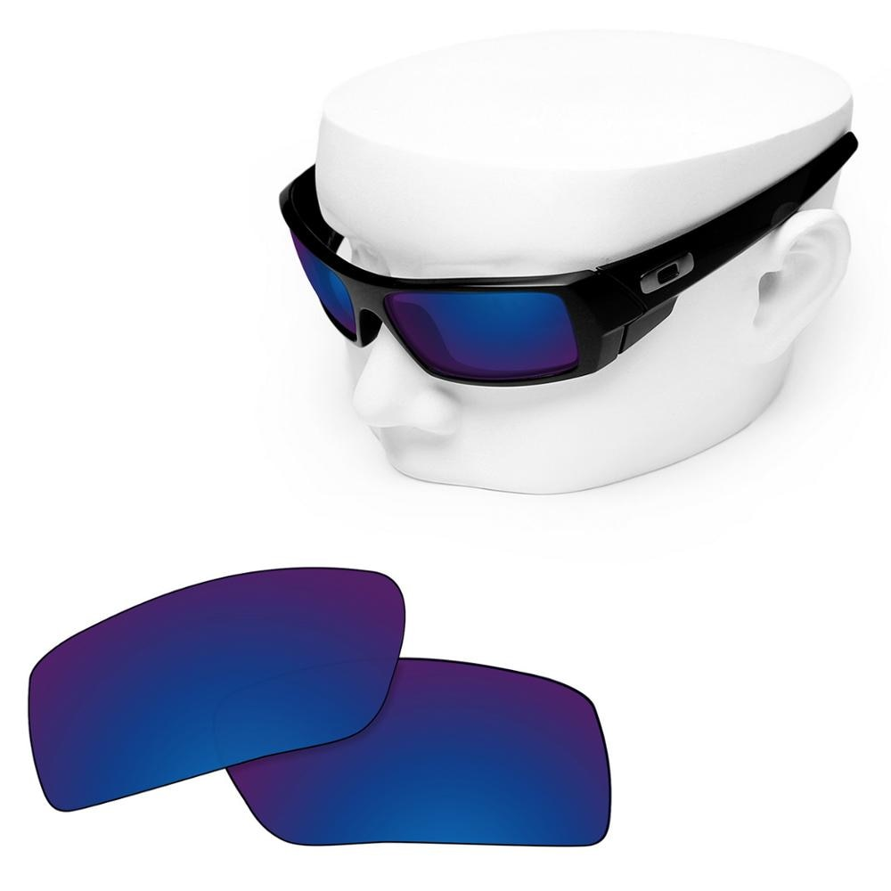 OOWLIT Polarized Replacement Lenses of Deep Water for-Oakley Gascan Sunglasses