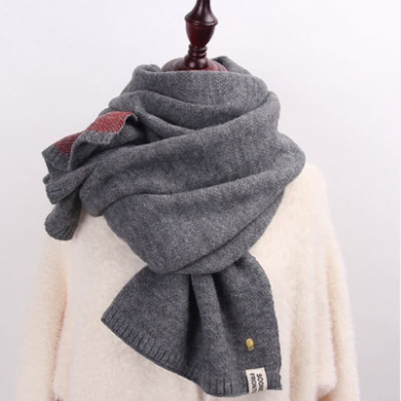 2017 Fashion Scarf Unisex Female Male Best Quality Wool Cashmere Scarf  Women Men Thickening Wrap