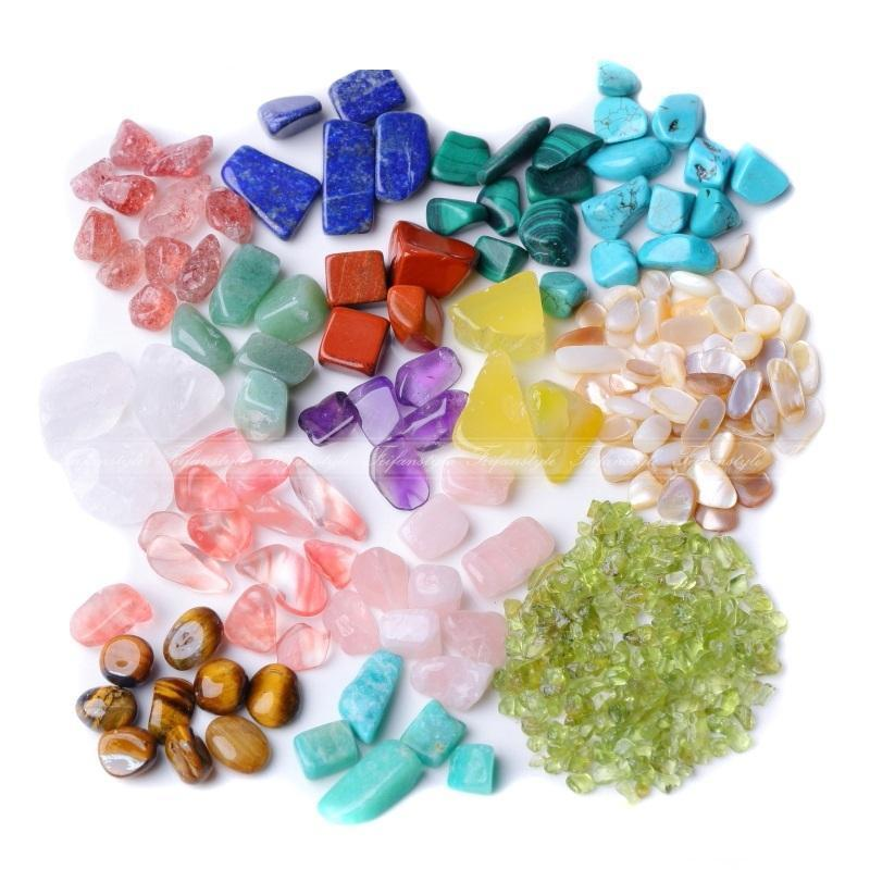 AAAA++50g Natural White Quartz Crystal/Amethyst/Agate/Black Obsidian/Olivine Quartz Rock Stones Healing crystal love