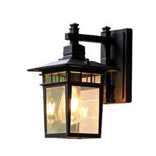 Retro European outdoor wall lamp hotel cafe decoration indoor wall lamp waterproof garden lamp