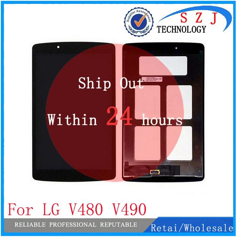 """Nuevo 8 """"pulgadas panel LCD combo para LG G Pad 8,0 V480 V490 Tablet pantalla LCD + pantalla táctil digitalizador Asamblea Combo"""