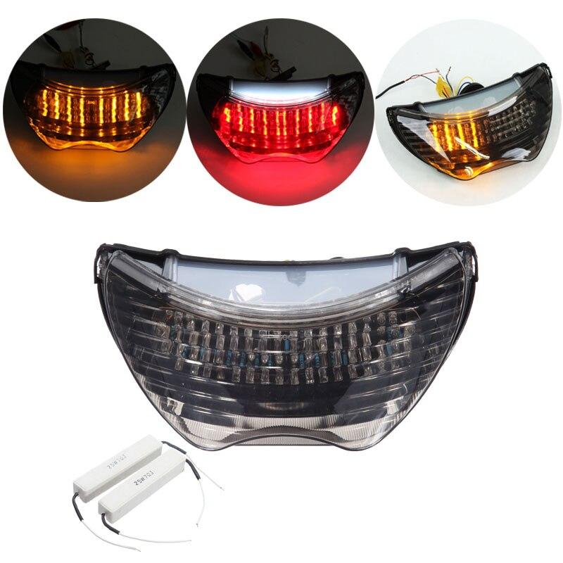Para Honda CBR600 F4i 04 05 06, CBR 600 F4 99-00, CBR 900RR 1999 motocicleta LED luz trasera integrada intermitentes lámpara de luz trasera