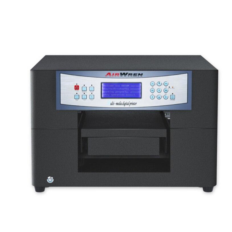 Impresora de inyección de tinta con cable USB A4 eco-solvente para impresión de carcasas de teléfonos, metal, etc.
