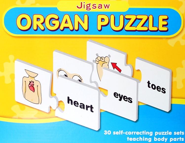 Los niños rompecabezas temprano inteligencia educativa juguete aprender inglés de Encuentro de carta de juego para los niños