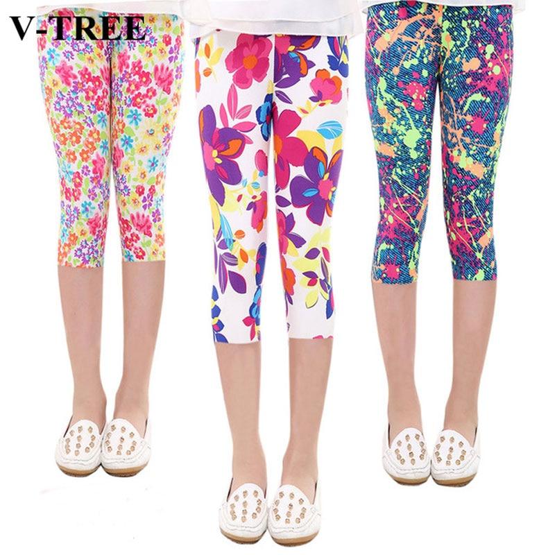 Pantalones para niños 2019 Primavera Verano Leggings para niños leche seda Leggings para Adolescente pantalones 3-10 años Pantalones Slim ropa