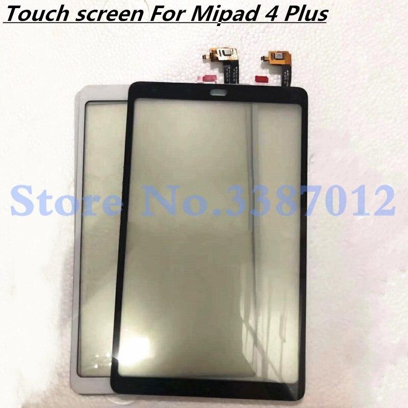 10,0 reemplazo de alta calidad para Xiaomi mi pad mi Pad 4 Plus mi pad4 Plus Sensor de digitalizador de pantalla táctil Panel de lente de vidrio exterior
