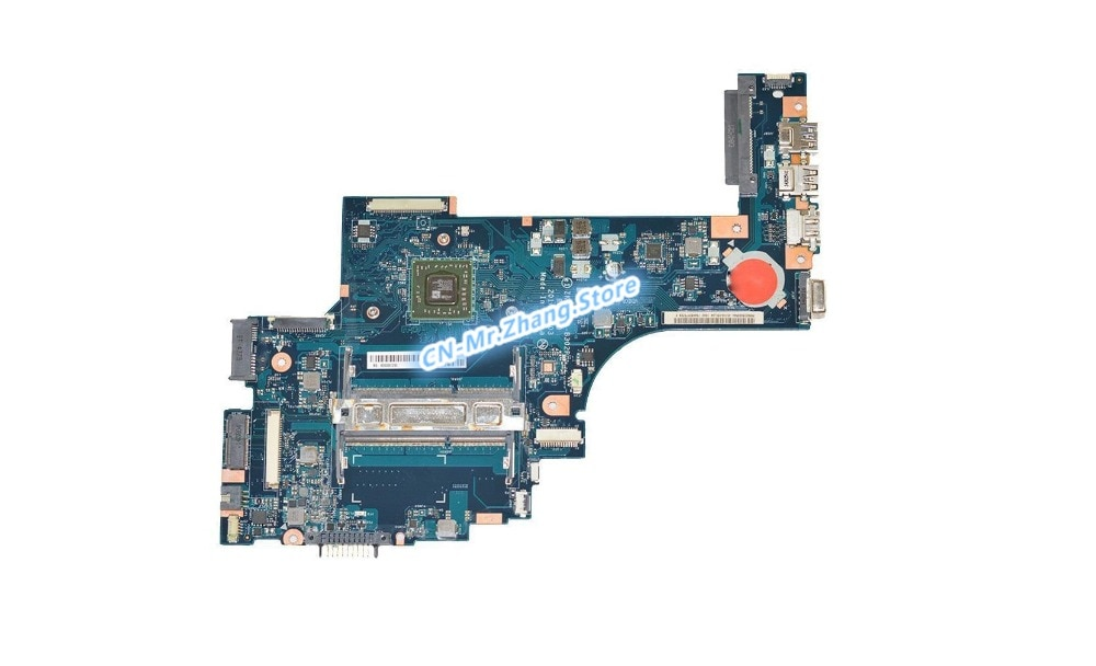 SHELI لتوشيبا C50D C50D-B-018 اللوحة المحمول W/ل E1-2100 CPU K000891200 ZKWAE LA-B302P DDR3 اختبار 100% جيدة