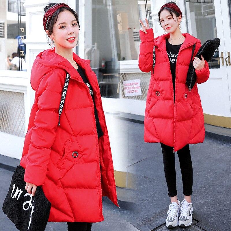 Maternité femmes nouvelles mamans à manches longues à capuchon en coton Cardigan manteau décontracté mode épaissir chaud bouffer extérieur hiver vestes