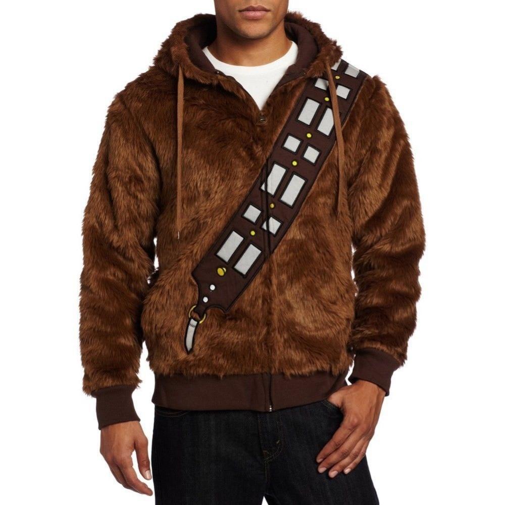 Chewbacca hoodie traje jaqueta cosplay traje