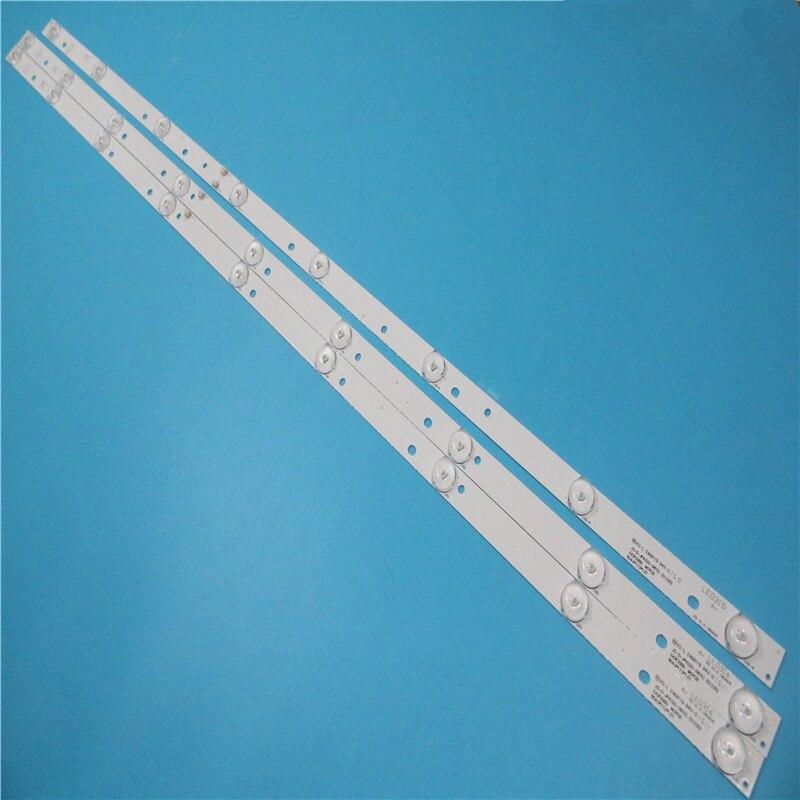 LED الخلفية قطاع مصباح ل اغرى AKTV432 JS-D-JP4320-091EC JS-D-JP4320-081EC E43F2000 D43-F2000
