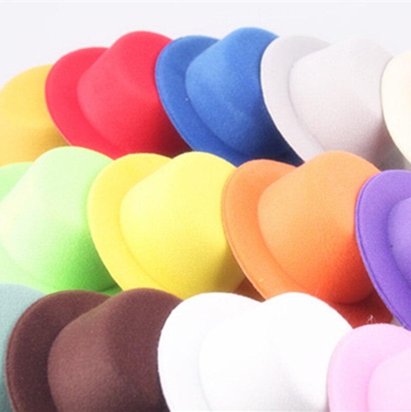 Кукольная Вуалетка 18 цветов 13 см BJD, головные уборы, аксессуары для волос «сделай сам», вечерние войлочные вуалетки, основа мини-топа MYQH002