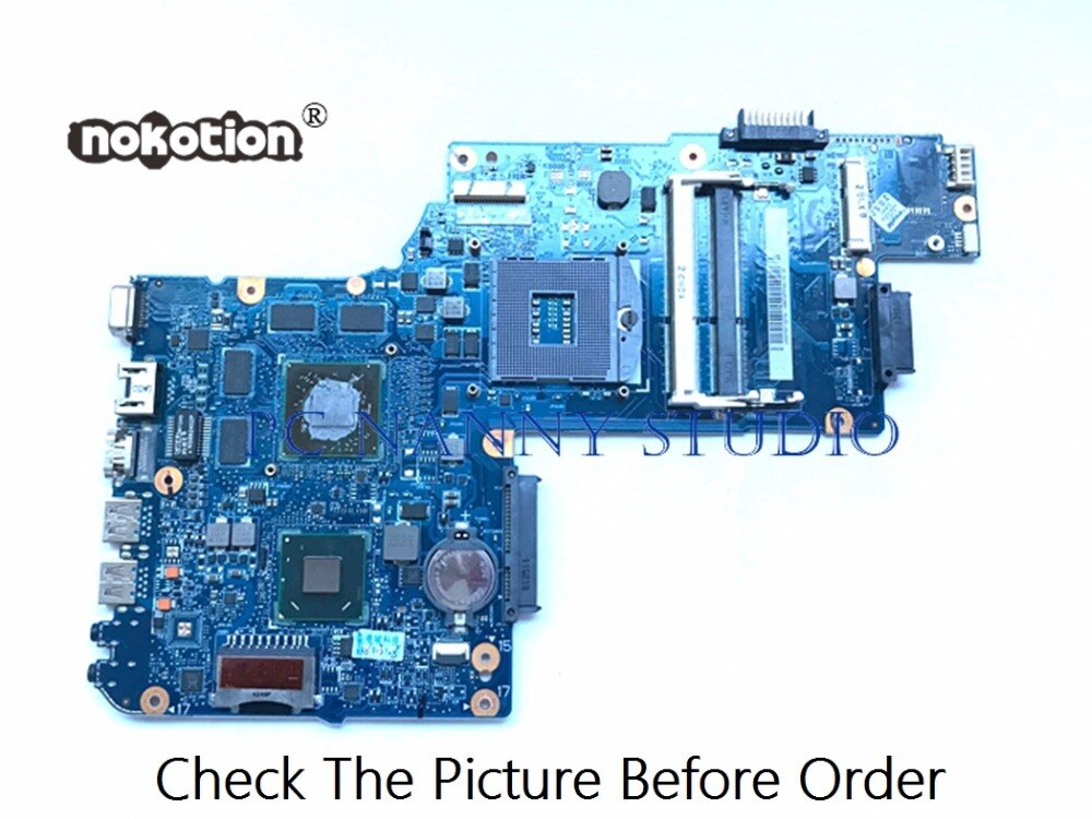 PANANNY для Toshiba Satellite L850 C850 материнская плата для ноутбука H000052750 HM76 DDR3 Протестирована