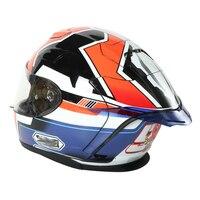 Motorcycle Rear trim helmet spoiler case for HJC RPHA11 / RPHA10 / DISNEYPIXAY / CL-17 / IS-17 / IS-MAX
