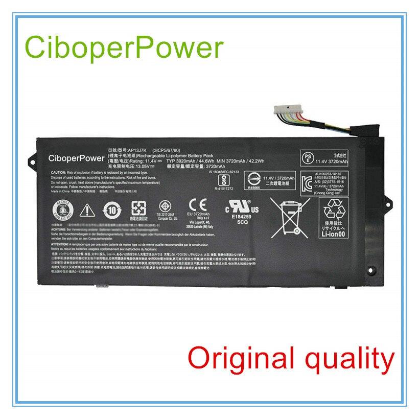 Batería de calidad Original AP13J7K para AP13J7K 3ICP5/67/90 Series 11,4 V 3920...