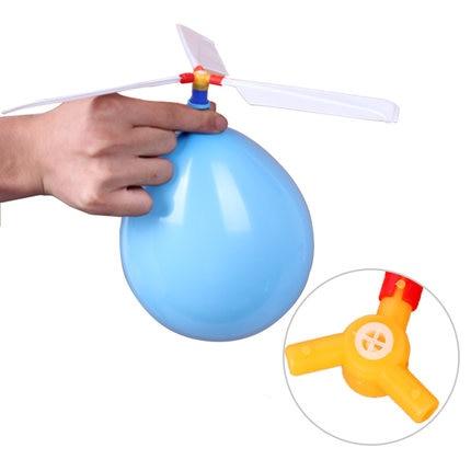 1 unids/lote, divertido, clásico, divertido, con sonido, globo, helicóptero, OVNI, niños, niños, juguetes voladores, pelota, deportes divertidos al aire libre