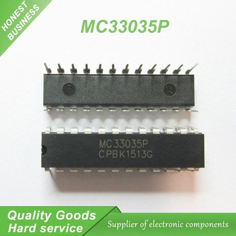 5 piezas envío gratis MC33035P MC33035 DIP-24 sin escobillas DC control del motor 100% nueva garantía de calidad original