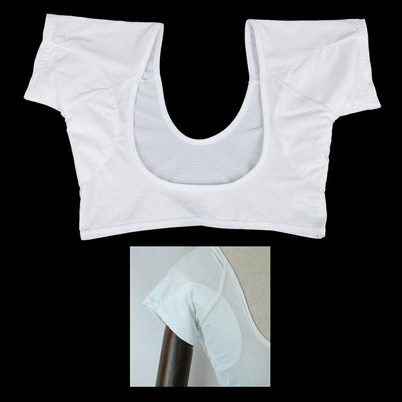 Прокладки для пота в форме футболки 1 шт., многоразовые моющиеся прокладки для подмышек, впитывающие пот духи, Размер 2