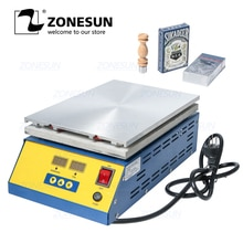 ZONESUN Machine demballage en Machine, boîte de Poker, parfum, cosmétiques, Film BOPP, Film étanche en PVC, Machine demballage