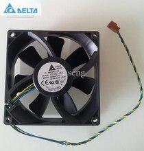 for delta AUB0912HH  PWM Cooling Fan 9225 92mm 90mm 411456-001 DC12V 0.40A Server cooler