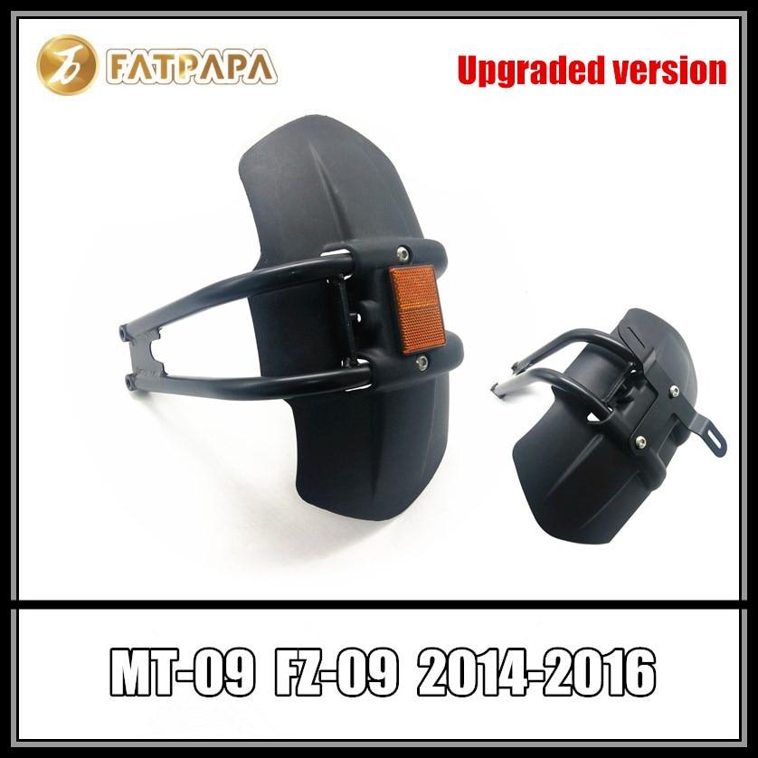 Versión mejorada, Marco para matrícula de motocicleta, guardabarros trasero para YAMAHA MT 09 MT-09 FZ 09 FZ-09 2014-2016