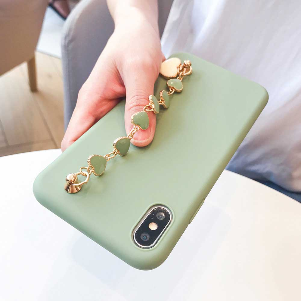 Funda de teléfono con pulsera para Samsung Galaxy A50, A51, A71, A70, A30, A20, S9, S8, S10, S20 plus, Ultra Note 8, 9 y 10 plus