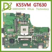 Carte mère KEFU K55VM pour ASUS K55VM K55V K55 K55VJ carte mère dordinateur portable K55VM GT630 2GB REV 2.2 Test carte mère dorigine