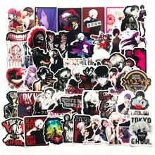 Anime Aufkleber Tokyo Ghoul Japan Klassische Graffiti Laptop Gepäck Auto Skateboard Telefon Aufkleber 50 stücke Moto Auto Koffer Kühlen Aufkleber