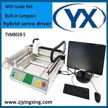 Petit TVM802B-S manuel de Machine de sélection et de Place avec le PC intégré pour le moteur en boucle fermée de Machine dassemblage de carte Pcb