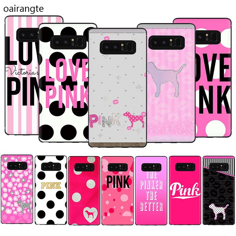 Rosa amor Rosa funda de móvil suave de TPU funda para Samsung Galaxy A2 Core A5 A6 7 8 9 2018 A10S 20S 20E 30S 40S 50S 60 S