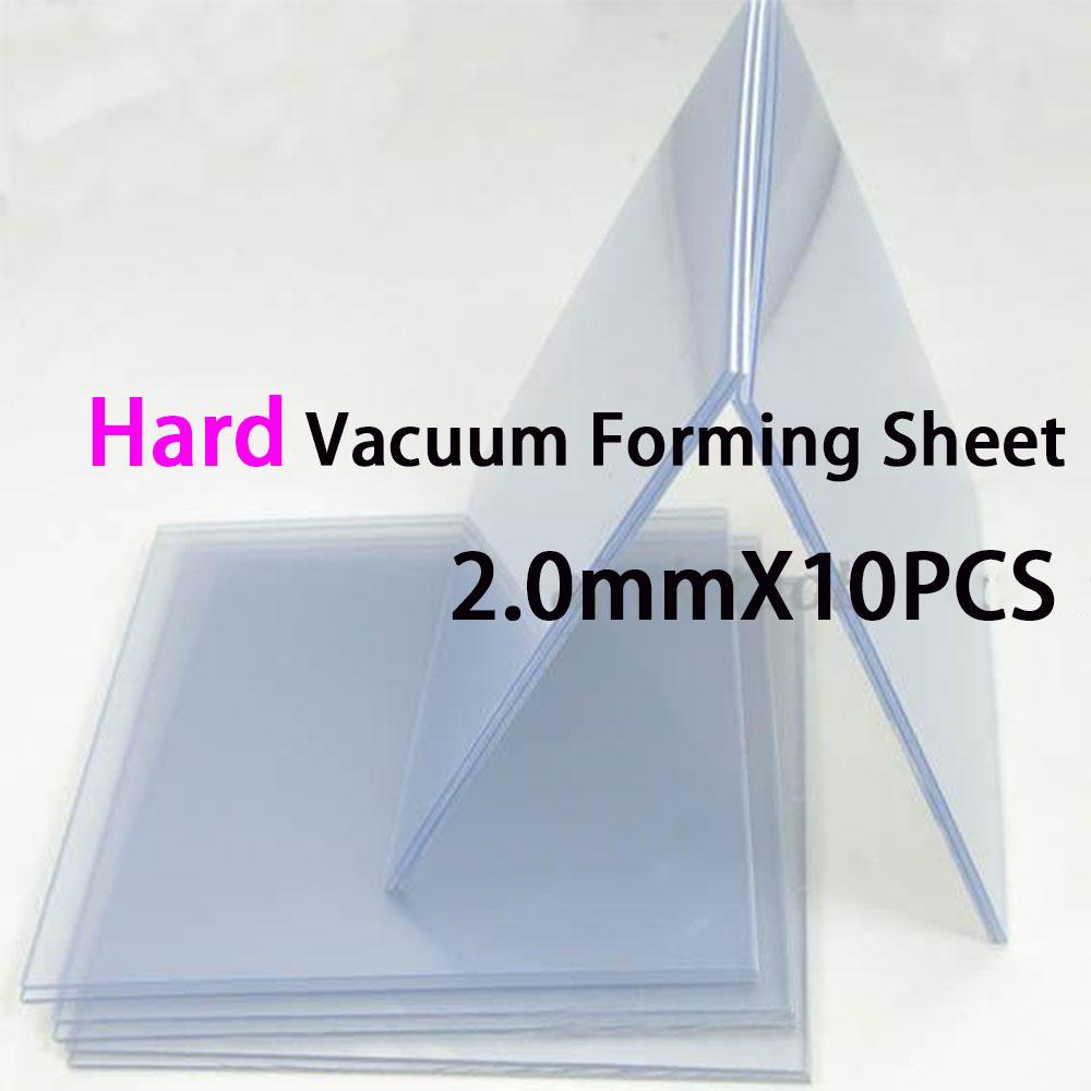 10 sztuk/partia Dental Retainer materiałów bardzo ciężko arkuszy EVA dla maszyny do formowania próżniowego nie bańka jasny kolor